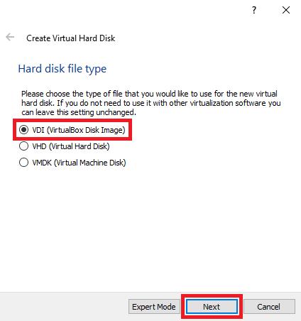 Cara Instal MikroTik di VirtualBox VDI
