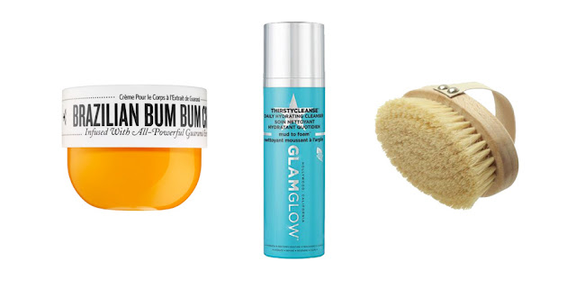 Beauty Blogger, Brazilian Bum Bum Cream, Glamglow Thirstycleanse Daily Cleanser, Dry Skin Brush, College Blogger, Lifestyle Blogger