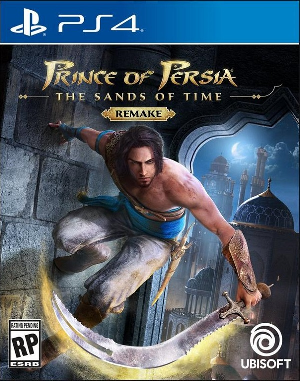 Prince of Persia The Sands of Time Remake PS4 Cover