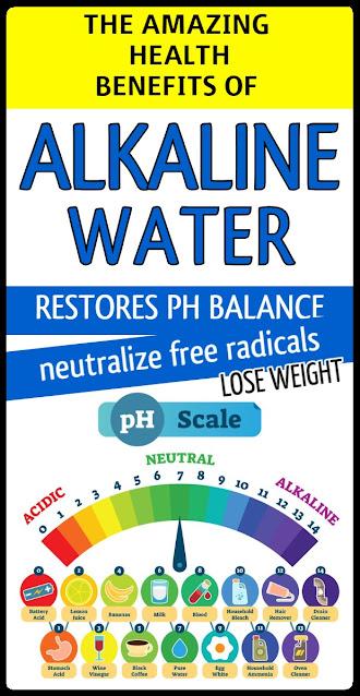 Amazing Health Benefits of Alkaline Water