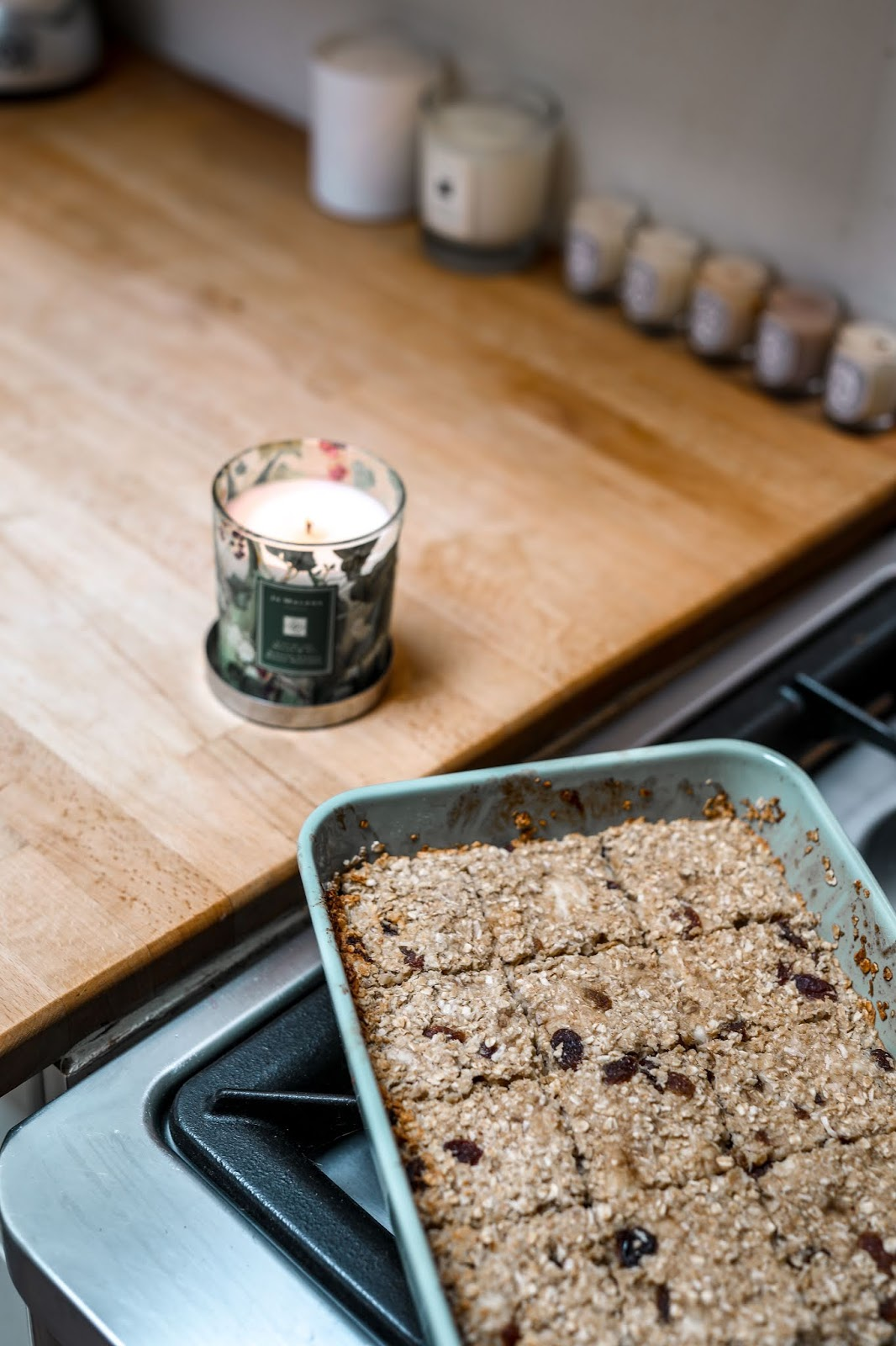 easy healthy flapjack