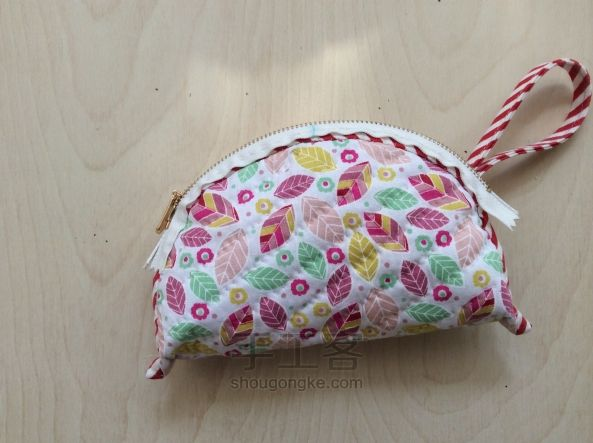 "Handbag fabric with a zipper, ""lamb"". DIY step-by-step tutorial. Сумочка, мастер-класс"