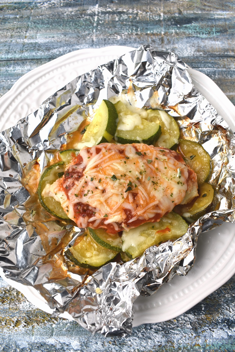 Grilled Chicken Foil Packets