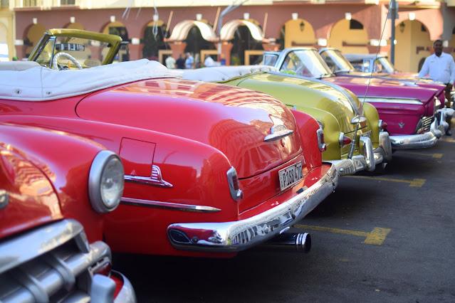 Classic American Cars in Havana Cuba