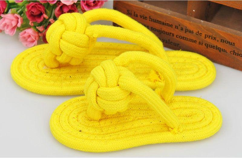 Dog Toy Yellow Color