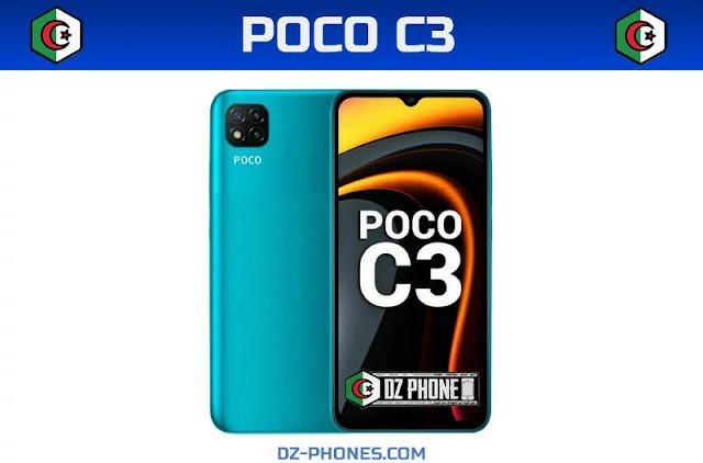 سعر POCO C3  في الجزائر ومواصفاته Poco C3 Prix Algerie
