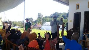 'Hipnotis' Warga Dengan Program Pro Rakyat, Bung Syarif Segel Ratusan Suara Warga Kampung Loyang Banjer
