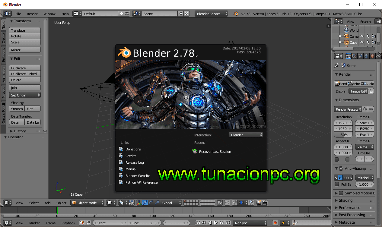 Blender Animacion 3D