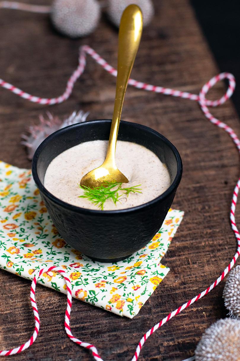 recette Sauce champignon vegetarienne