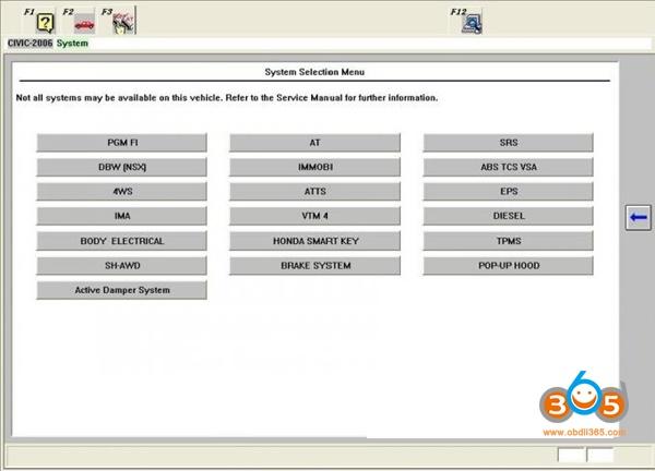 Honda HDS Diagnostic System-OBDII365
