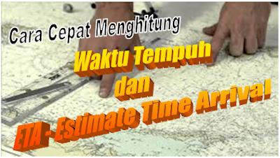 Menghitung Waktu Tempuh dan Perkiraan Waktu Tiba - ETA