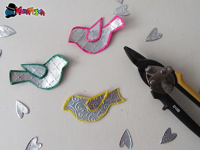 Riciclo creativo delle lattine di alluminio