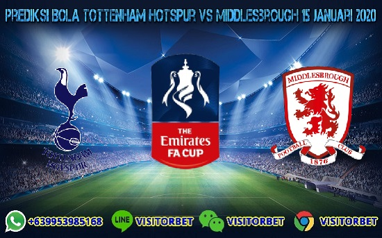 Prediksi Skor Tottenham Hotspur vs Middlesbrough 15 Januari 2020