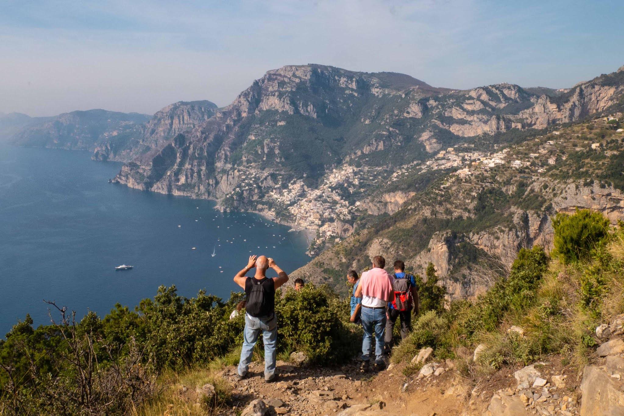 Поход по Пути Богов на побережье Амальфи