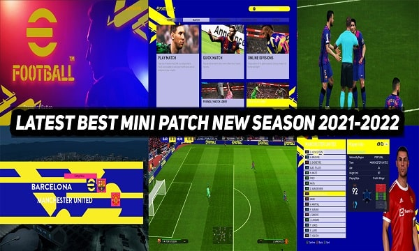 PES 2017 Black Edition Mini Patch New Season 2021-2022