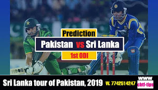 Who will win Today Sri Lanka tour of Pakistan, 2019 CBTF Cricket Tips Match Lanka vs Pak