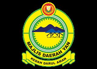 Majlis daerah yan Logo Vector