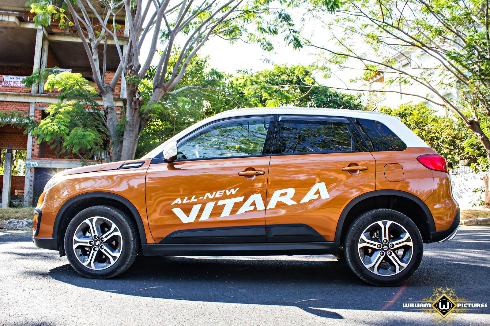 Đánh giá xe Suzuki Vitara 2016