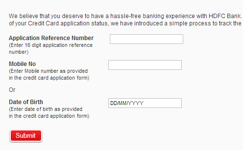 Check Your Application Status Credit Cards >> Track Status Check Your Applications Courier Payment Tax Status