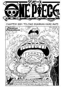 Update! Baca Manga One Piece Chapter 991 Full Sub Indo
