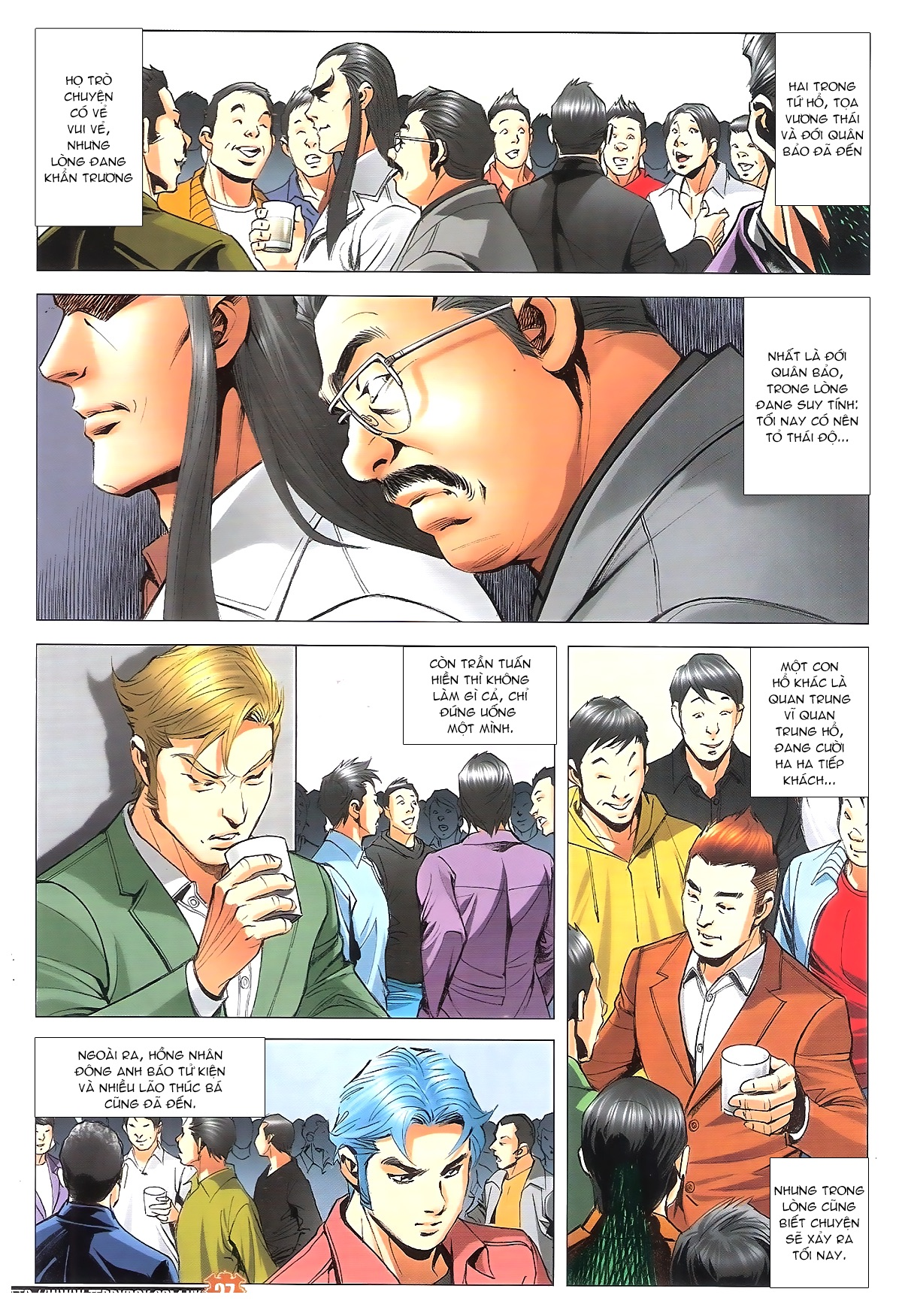Người Trong Giang Hồ chapter 1887: chạm trán trang 26