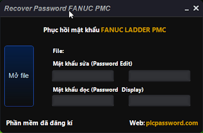 Recover Password FANUC PMC