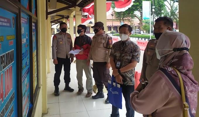 Sempat Vakum, Ombudsman RI Kembali Sidak Pelayanan Publik di Polres Serang Kota