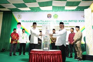 Pembukaan MTQ Kota Tarakan Tahun 2020 oleh Wali Kota Tarakan - Tarakan Info