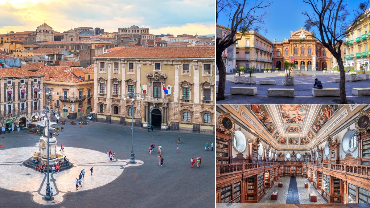 G20 Catania Sindaco Catania Pogliese Monastero dei Benedettini piazza Dante