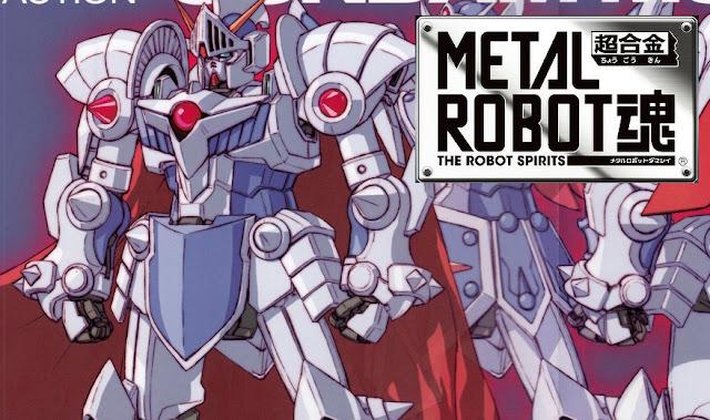 Metal Robot Damashii Knight Gundam