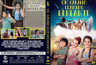 Un caballo llamado Elefante - Cover DVD