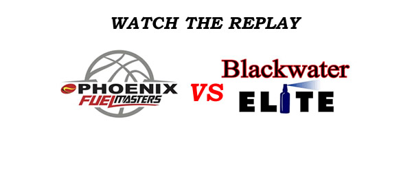 List of Replay Videos Phoenix vs Blackwater @ Ynares Center September 9, 2016