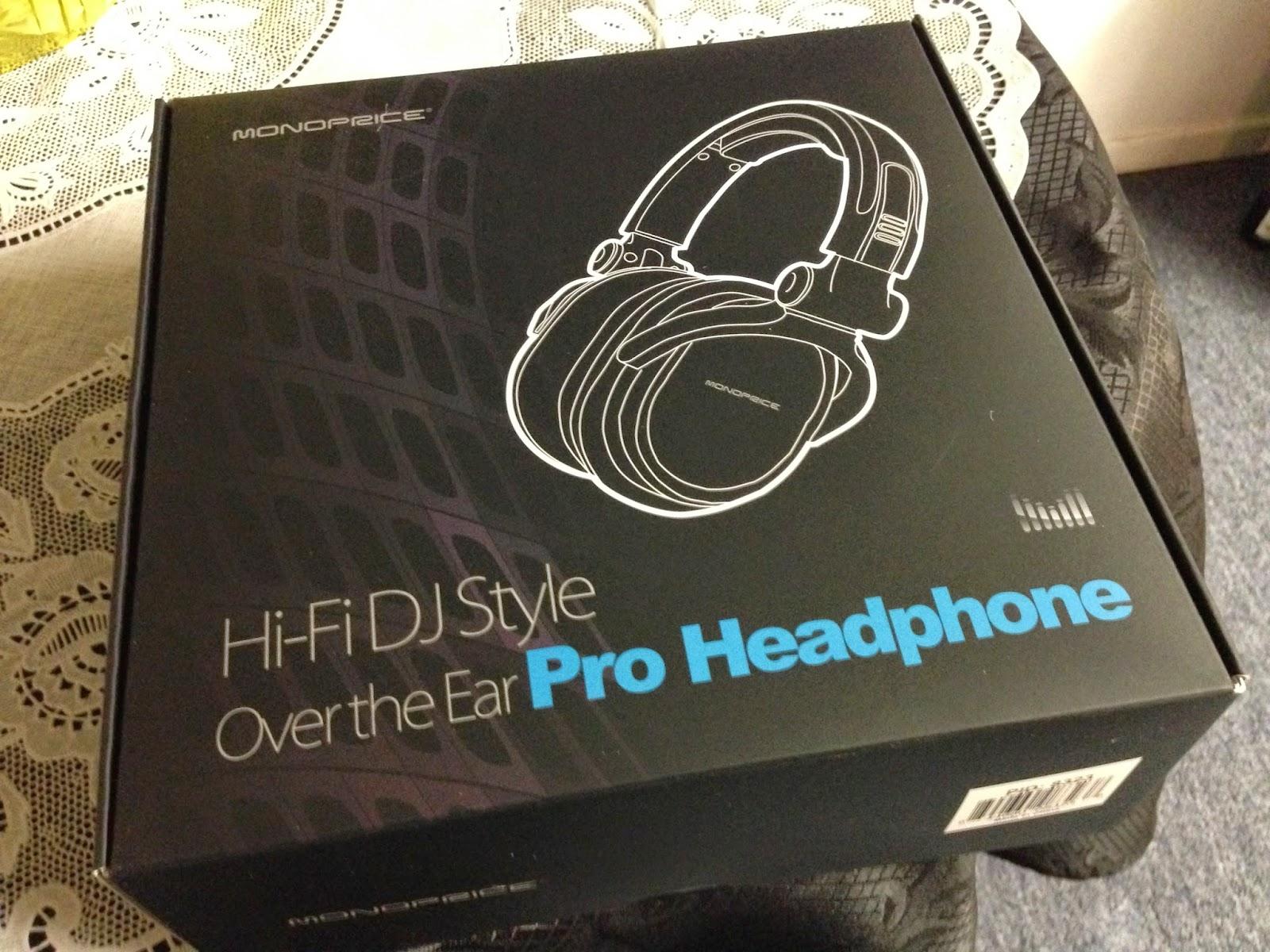 0b4d69e2673 Newcastle Nerd in LA: Monoprice 8323 Premium Hi-Fi DJ Style Over-The ...