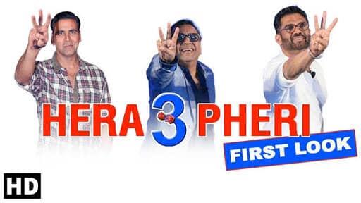 Hera Pheri 3 Full Movie 720p-480p Download Leaked By Tamilrockers