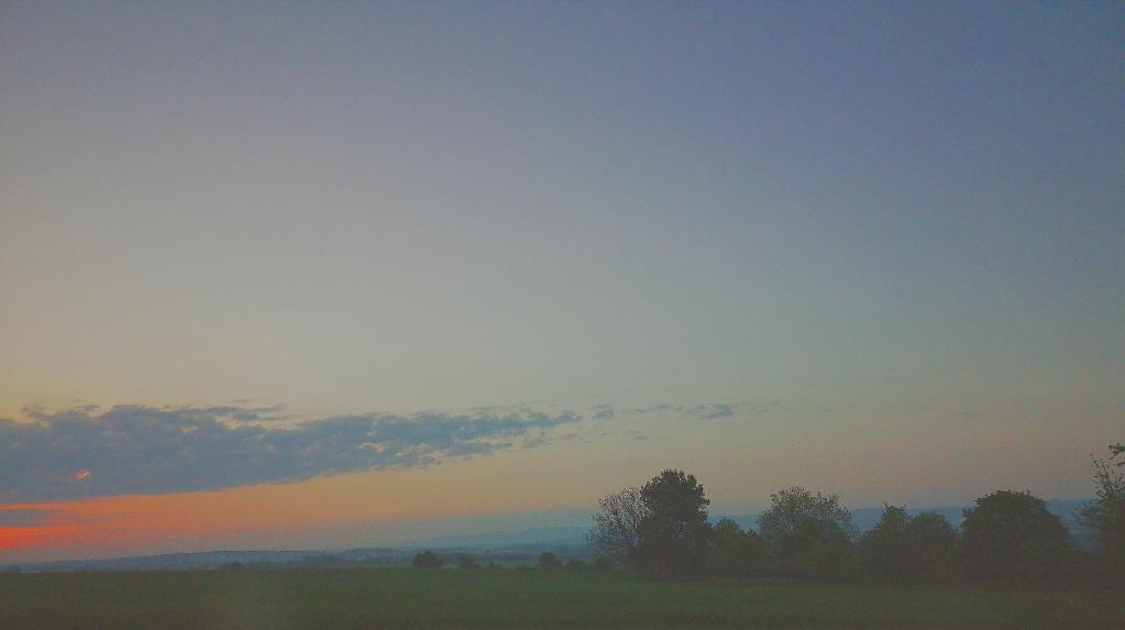 Huawai P20 – Sonnenaufgang