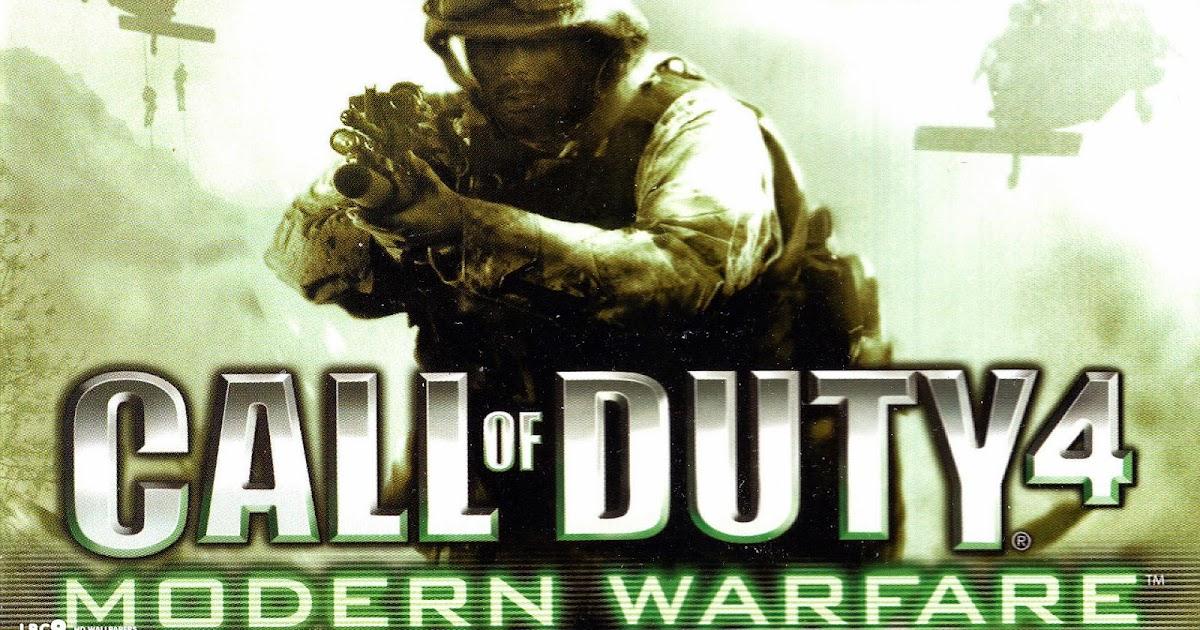 تحميل لعبة call of duty 4 modern warfare مضغوطة