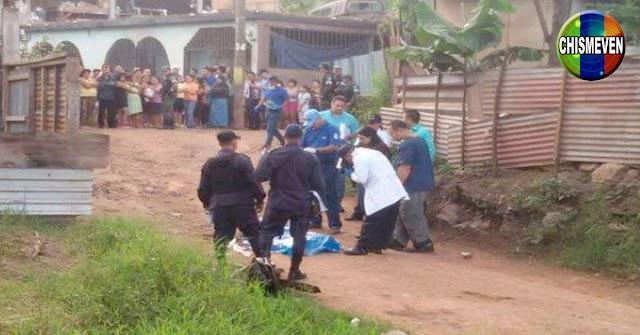 Fue asesinado a punta d Batazos y Machetazos en Nueva Tacagua