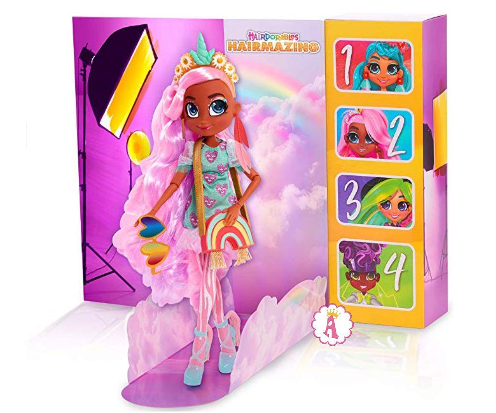 Шарнирная кукла Виллоу 26 см Хэрдораблс Hairmazing