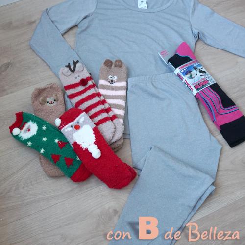 Ropa térmica: leggings, camiseta interior, calcetines