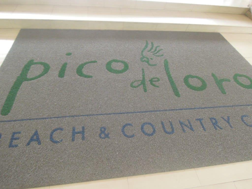 Entrance to the Pico de Loro Beach & Country Club