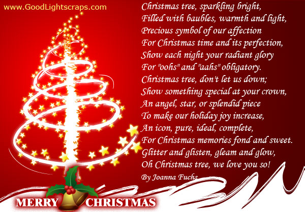 Merry Christmas Short Poems 2015