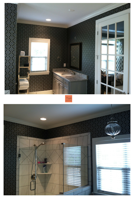 Project: Master Bath,  tnwallpaperhanger