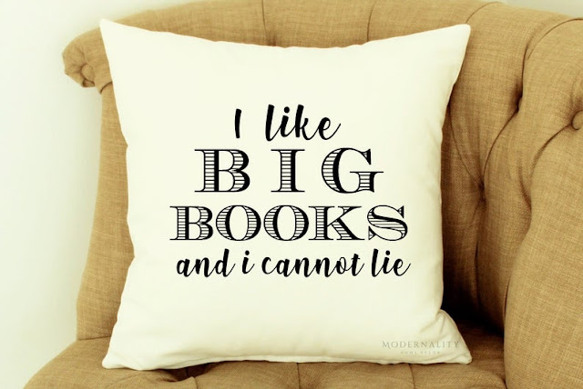 I Like Big Books and I Cannot Lie Cushion