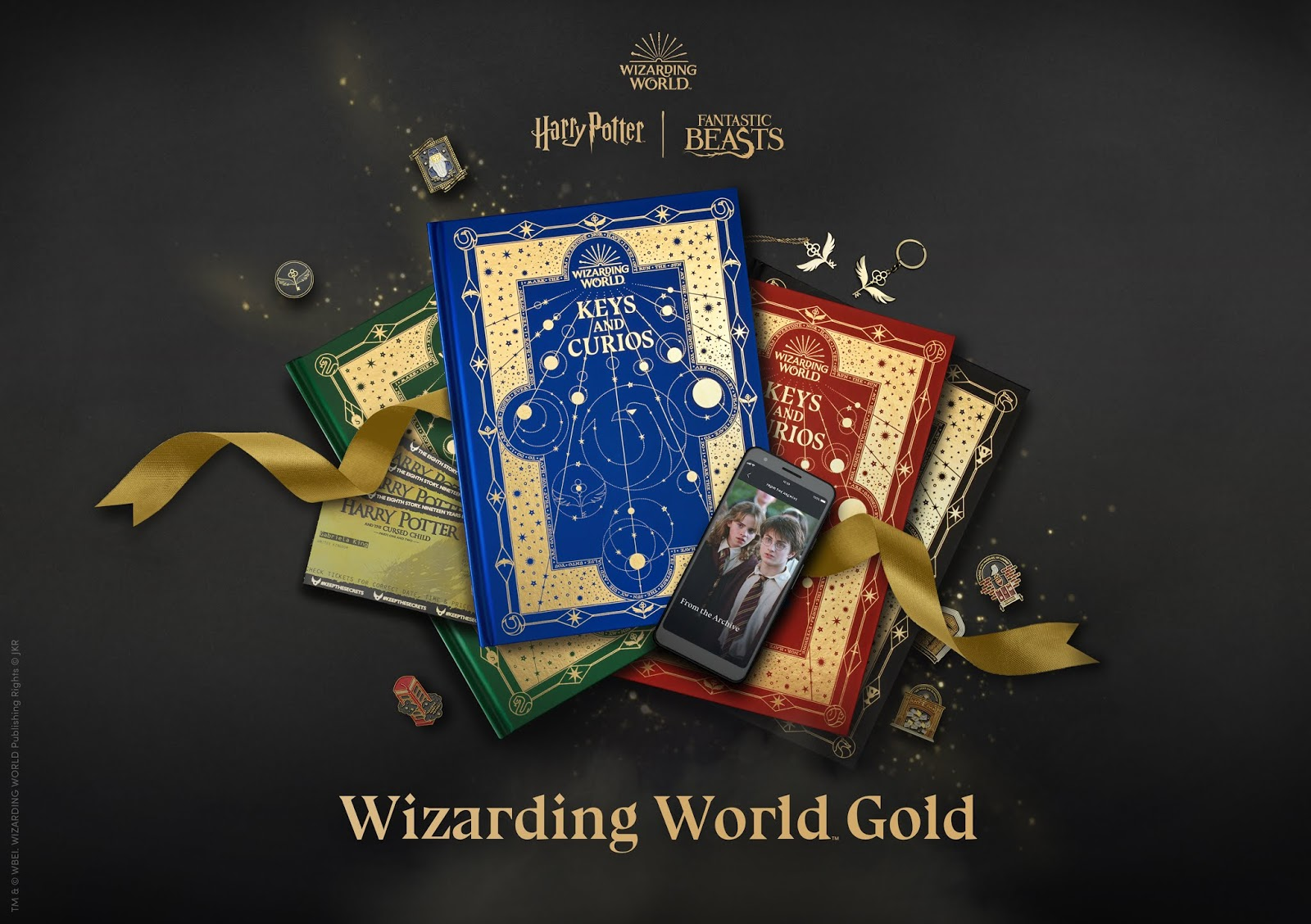 Wizarding World Gold Harry Potter Subscription