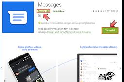 Cara Menggunakan Message Web Google atau SMS di Windows