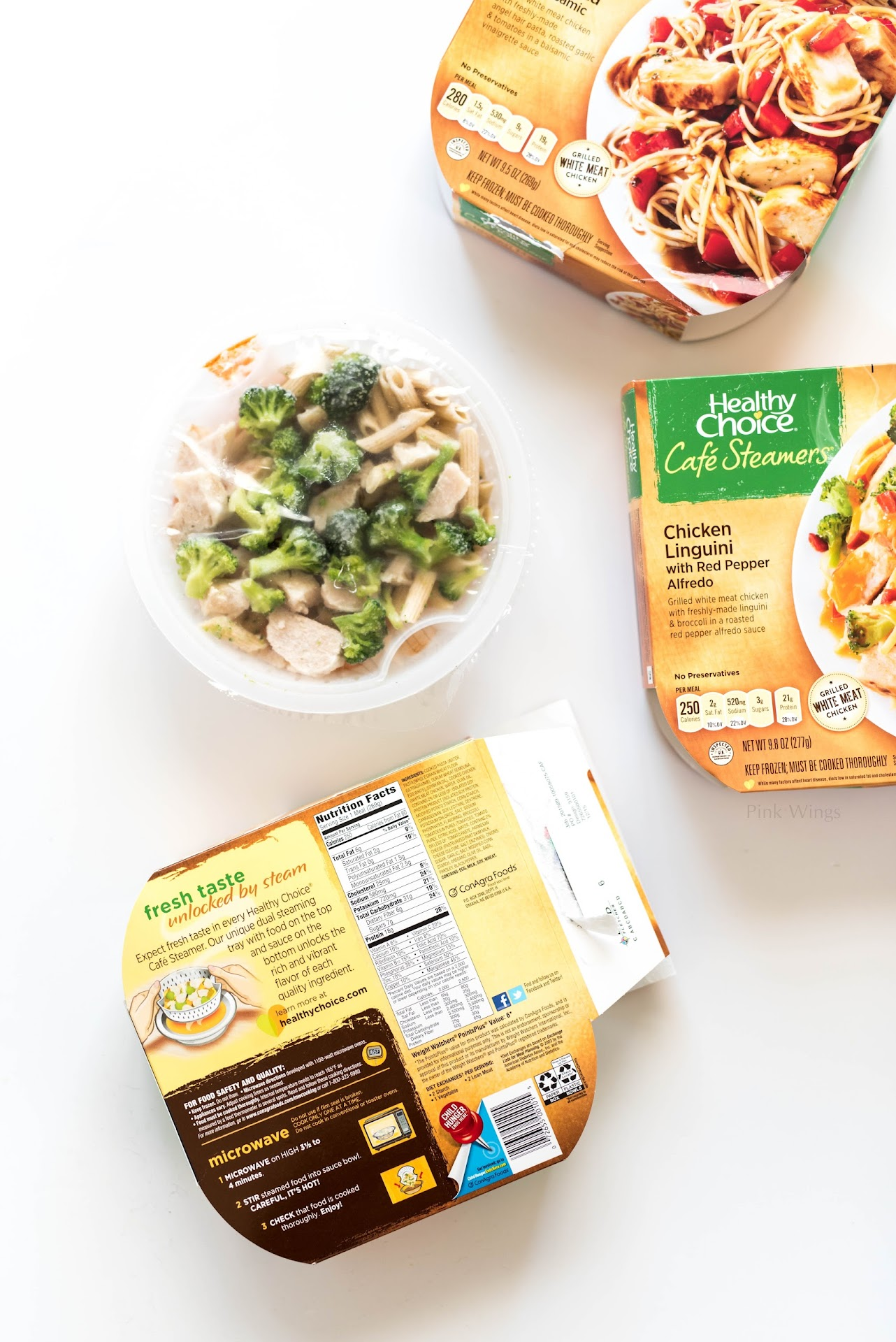 best tasting frozen meals, family meals, best frozen grocery store meals, quick easy meal planning, meal ideas, ideas for two, busy moms, quick easy meals for 4, healthy choice cafe steamers review, penne marinara, best frozen meals,