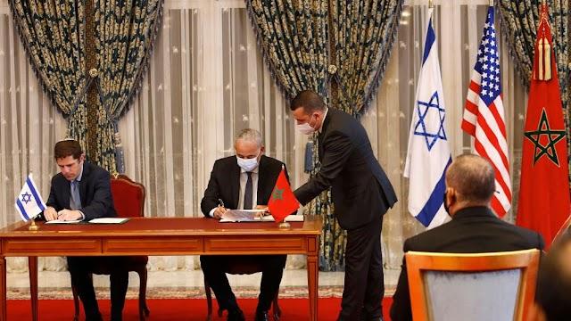 Israel e Marrocos assinaram um acordo conjunto
