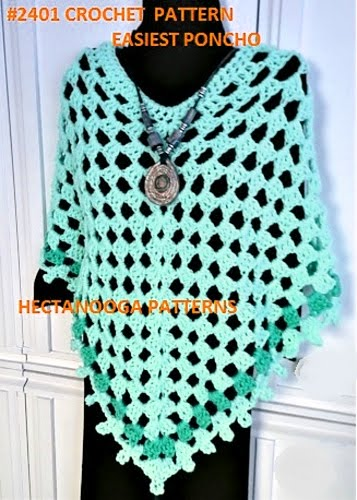 HECTANOOGA PATTERNS: Free Crochet Pattern - 2401-EASIEST