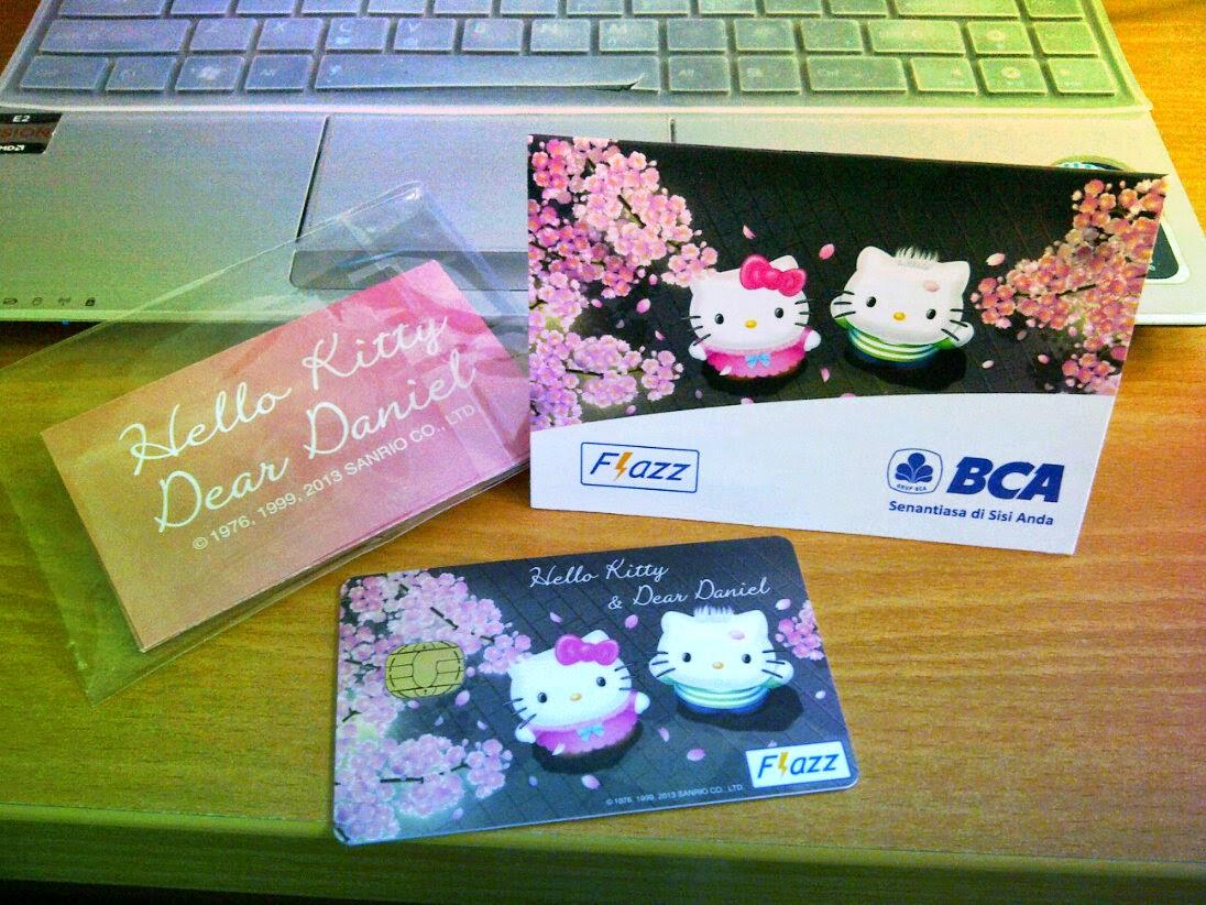 Kartu Flazz BCA-ku edisi Hello Kitty | Moonlight on the ...