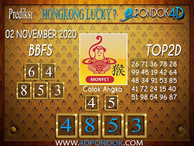 Prediksi Togel HONGKONG LUCKY 7 PONDOK4D 02 NOVEMBER 2020